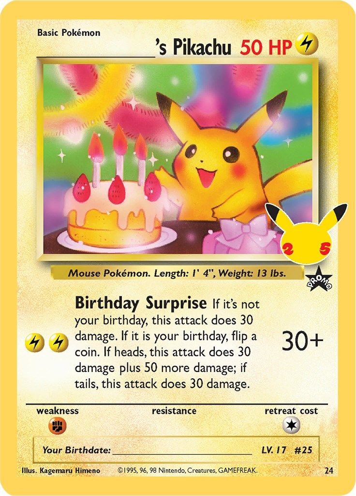 ______'s Pikachu-Celebrations - Classic Collection